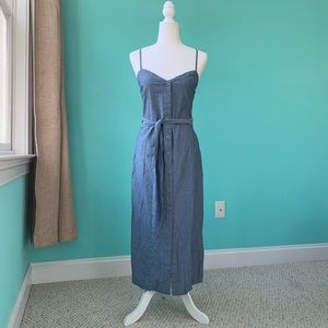 LACAUSA Form Fitted Maxi Dress